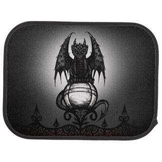 Gotischer Drache Autofußmatte