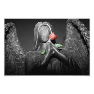 Gotischer Engel Photodrucke