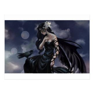 Gotischer Engel Postkarte