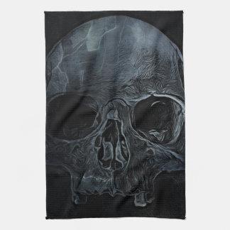 Gotischer Knochen Halloweens medizinischer Geschirrtuch