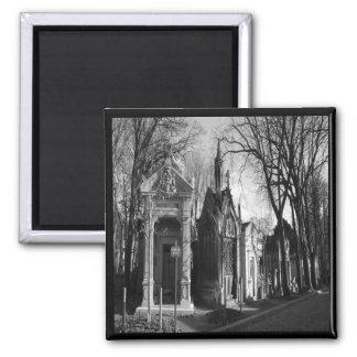Gotischer Magnet FriedhofMausoleum Kühlschrankmagnet