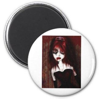 Gotischer RedHead-Elf Magnets
