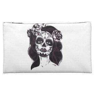 Gotischer Schädel Cosmetic Bag