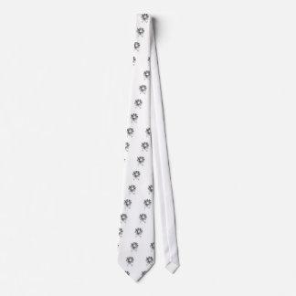 Gotischer Schädel der Stammes- Art - Kreuz Krawatten