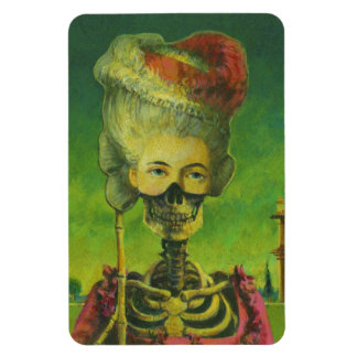 Gotischer Skeleto flexibler Magnet