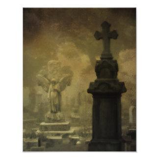 Gotischer Surrealismus Fotografischer Druck