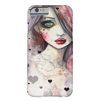 Gotisches Fantasie-Mädchen mit Herzen iPhone 6 Barely There iPhone 6 Hülle