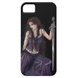 Gotisches Fantasie-Morgan le Fay iPhone 5 Etui
