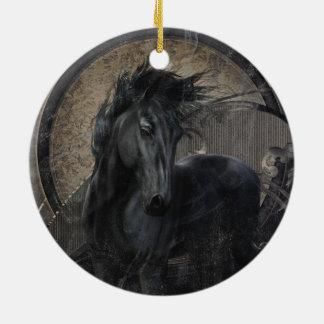 Gotisches friesisches Pferd Keramik Ornament