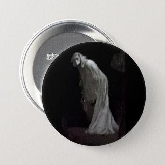 Gotisches Geistknopf-Abzeichen Runder Button 7,6 Cm