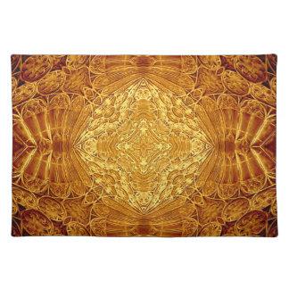 Gotisches GoldTischset Tischsets