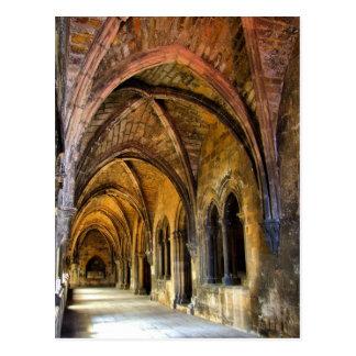 Gotisches Kloster von Lissabon-Kathedrale Postkarte
