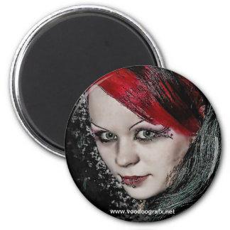 Gotisches Küken Magnets