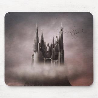 Gotisches Schloss ruiniert Mausunterlage Mousepad
