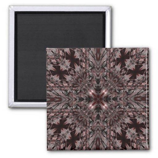 Gotisches Vampirs-Kaleidoskop Magnete