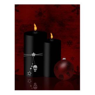 Gotisches Weihnachten - Postkarte