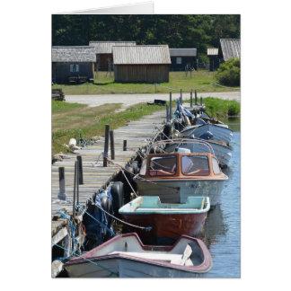 Gotland - kleine Boote Karte