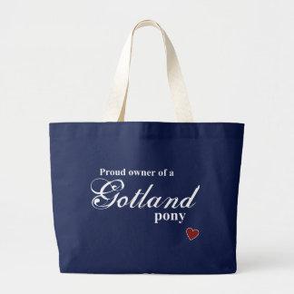 Gotland-Pony Jumbo Stoffbeutel