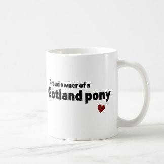 Gotland-Pony Kaffeetasse