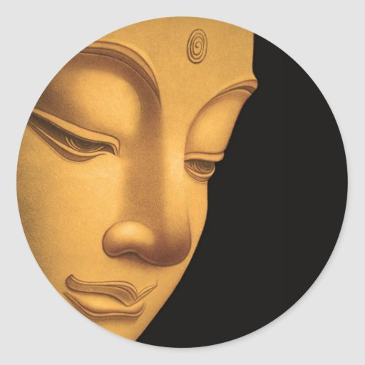 Gott Buddha Sticker