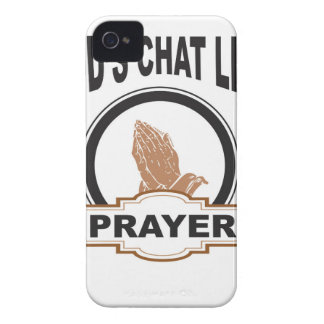 Gott-Chatgebet iPhone 4 Cover