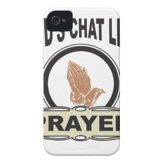 Gott-Chatlinie Gebet Case-Mate iPhone 4 Hülle