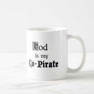 Gott Co-Pirat Kaffeetasse