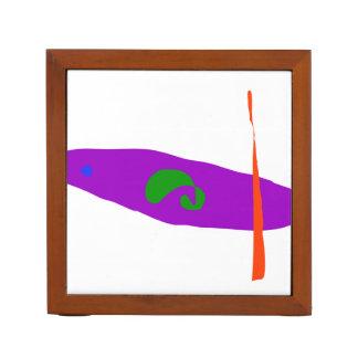 Gott des Fischens Stifthalter