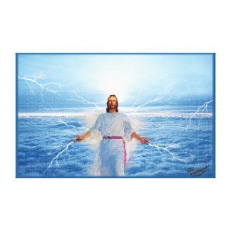 Gott des Lichtes - Jesus Christus Leinwanddruck