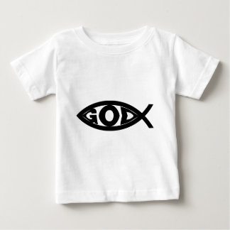 Gott-Fische Baby T-shirt