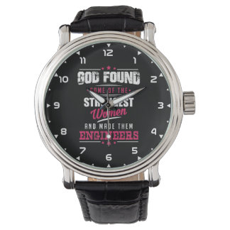 Gott gemachter Ingenieur-unglaublich witzig Armbanduhr