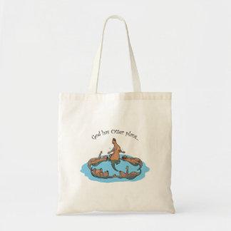 Gott hat Otterplan… Taschentasche Tragetasche