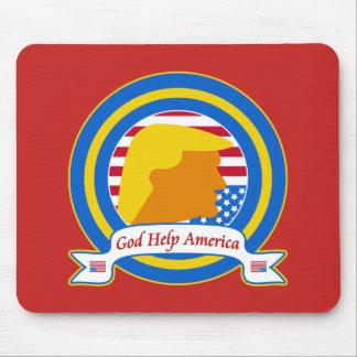 Gott-Hilfe Amerika widerstehen lustigen dem Mousepads