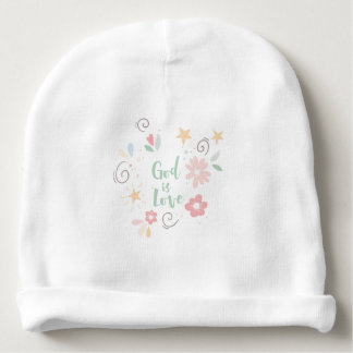 Gott ist die geistige und religiöse Liebe - Babymütze