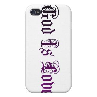 Gott ist Fall der Liebe ipad iphone Etui Fürs iPhone 4