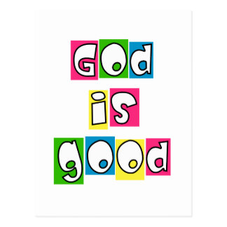 Gott ist gut postkarte