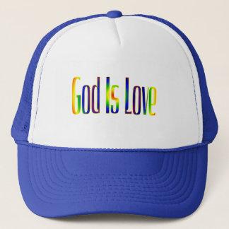 Gott ist Liebe Truckerkappe