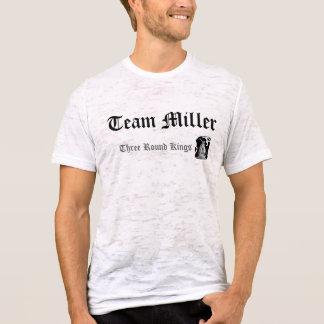 Gott ist Team Miller, drei runde Könige T-Shirt