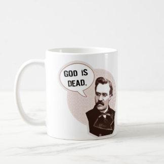Gott ist tot (Nietzsche) Kaffeetasse
