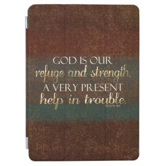 Gott ist unser Schutz-christlicher Bibel-Vers iPad Air Hülle