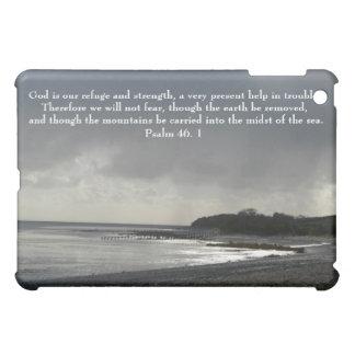 Gott ist unser Schutz und Stärke-Stürmischer iPad Mini Hülle
