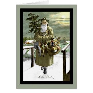 Gott-Jul-Schwede Sankt Karte