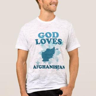 Gott-Lieben Afghanistan T-Shirt