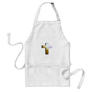 Gott-Lieben alles Kreuz Schürze