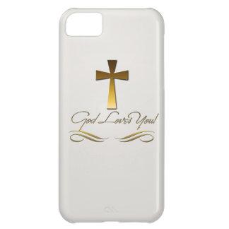 Gott-Lieben Sie iPhone 5C Hülle