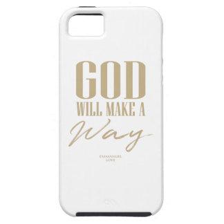 Gott macht eine Weise iPhone 5 Schutzhülle
