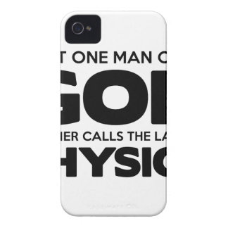Gott oder Physik iPhone 4 Cover
