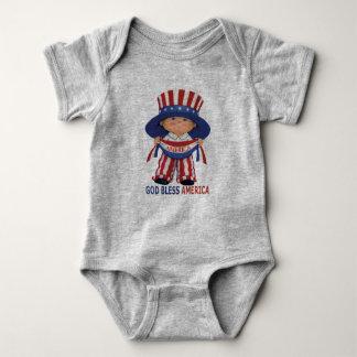 "Gott segnen Amerika""Baby-Bodysuit Baby Strampler"