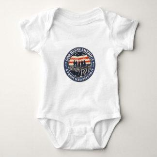 Gott segnen Amerika Baby Strampler