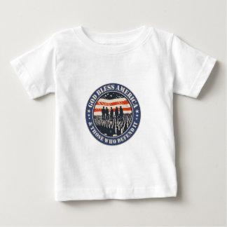 Gott segnen Amerika Baby T-shirt